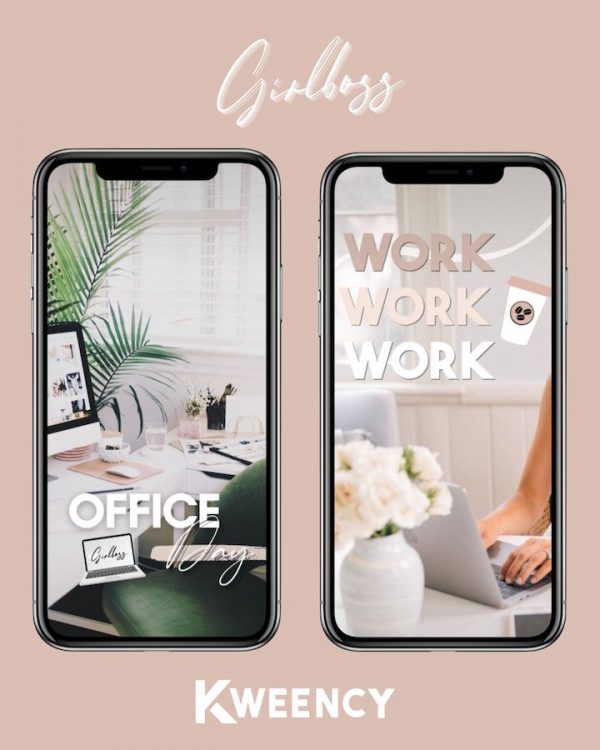 Kweency-stickers-story-instagram-girlboss